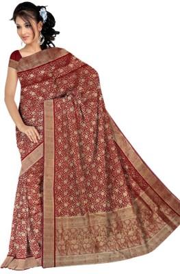Kothari Self Design Banarasi Satin Sari