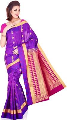 Kuberan Solid Daily Wear Silk Sari