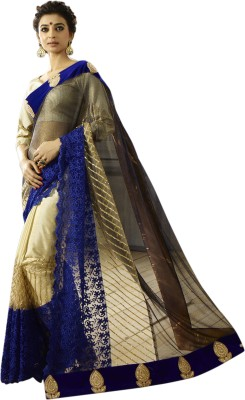 Chirag Sarees Embriodered Bollywood Net Sari