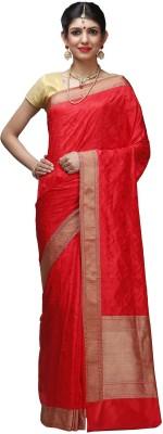 Shloka Woven Banarasi Handloom Silk Sari