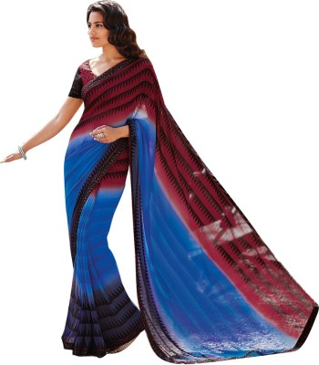 Laxmipati Printed Fashion Pure Georgette Sari