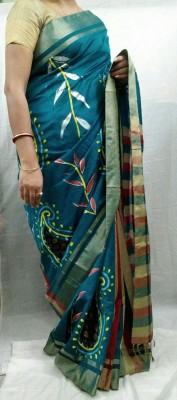 mayukhcreation Self Design Chanderi Silk Sari