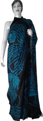 sakshi creations Printed Daily Wear Poly Silk Sari