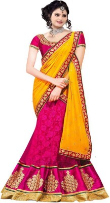 Festive Embriodered Bollywood Handloom Net, Brasso Sari