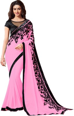 Amayra Fashions Embellished Fashion Georgette Sari