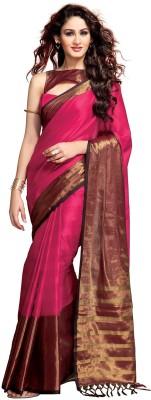 Mukesh Solid Fashion Handloom Cotton Sari