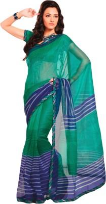 Roop Kashish Striped Kota Doria Net Sari