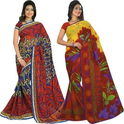 Mahrokh Printed Fashion Georgette Sari