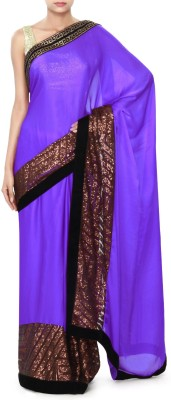 Kalki Embriodered Fashion Satin Sari