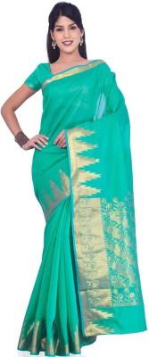 Kuberan Printed Fashion Handloom Cotton Sari