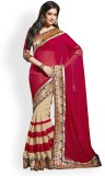 Shreesaimart Solid Bollywood Georgette S...