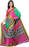 Saara Printed Fashion Cotton Saree (Mult...