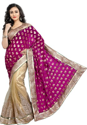 Sarika Fashion Embriodered Fashion Viscose Sari
