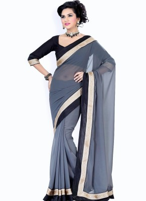 Budget Vastra Self Design Bollywood Chiffon Sari