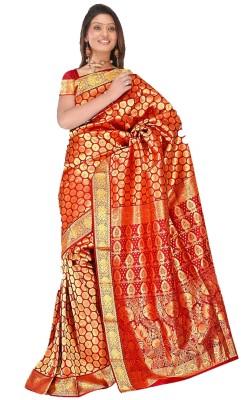 MGS Printed Fashion Silk Sari
