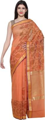 Chhabra Xclusive Self Design Banarasi Chanderi Sari