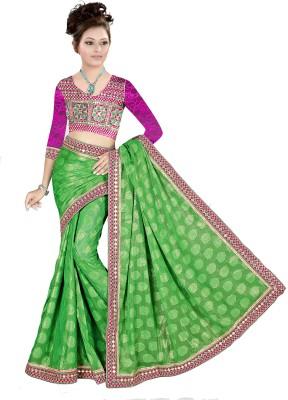 Shree Shyam Silk Embriodered Fashion Jacquard Sari