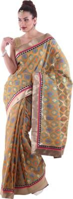 Aumkar Printed Fashion Cotton Sari