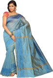 Pavechas Solid Banarasi Polyester, Cotto...