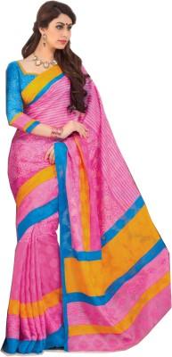 Swaman Self Design Fashion Jute Sari