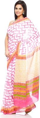 Aapno Rajasthan Geometric Print Daily Wear Cotton Sari