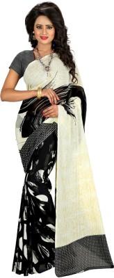 Kalika Graphic Print Bollywood Georgette Sari