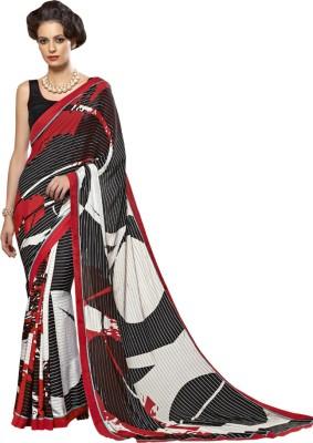 Shoponbit Printed Bollywood Silk Sari