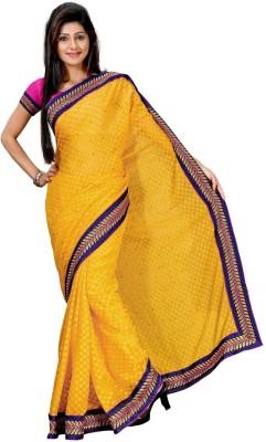 Randeria Fabrics Self Design Fashion Jacquard Sari