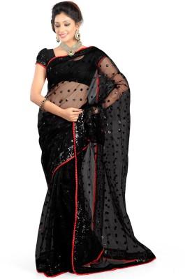 Riwaz Collection Self Design Bollywood Net Sari
