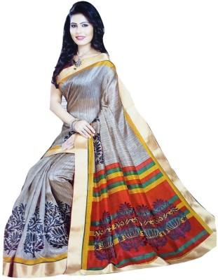 Varsha Solid Fashion Jute Sari