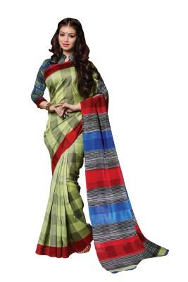 Indrani Polka Print Bollywood Silk Sari