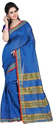 Kajal Kolavery Solid Banarasi Art Silk Sari