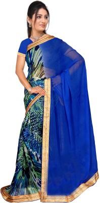 Vardan Prints Printed Bollywood Chiffon Sari