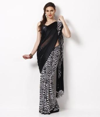 Anerra Printed Fashion Satin Sari