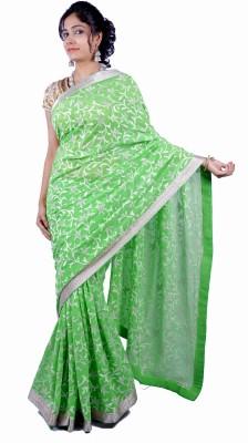 Thakurani Self Design Fashion Handloom Chiffon Sari