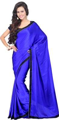 Shreepati Solid Bollywood Pure Georgette Sari