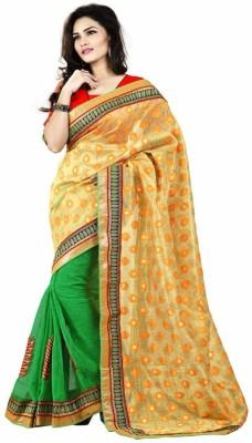 Majestic Silk Solid Banarasi Jacquard Sari