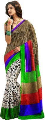 Regalia Ethnic Printed Fashion Art Silk Sari