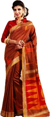 Glorious Fashion & Design Printed Bhagalpuri Art Silk Sari