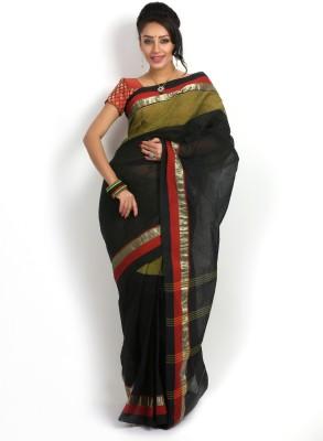 Rudrakshhh Embriodered Tant Handloom Cotton Sari