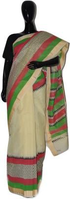 inches Hand Painted Chanderi Chanderi Sari