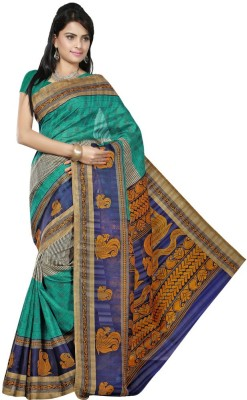 Cutie Pie Self Design Bhagalpuri Silk Sari