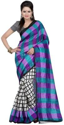 Trusha Dresses Printed Bhagalpuri Art Silk Sari