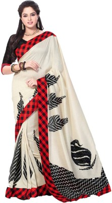 S.B Textiles Self Design Fashion Silk Sari