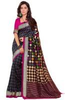 kumarisarees Printed Bhagalpuri Art Silk Sari(Multicolor)