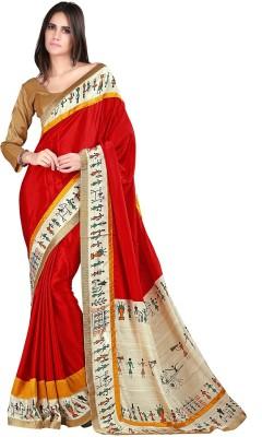 Moiaa Embellished Fashion Crepe Sari