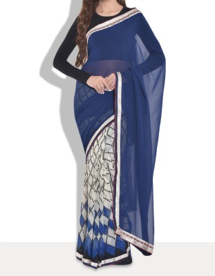 Parmar Design Printed Bollywood Georgette Sari