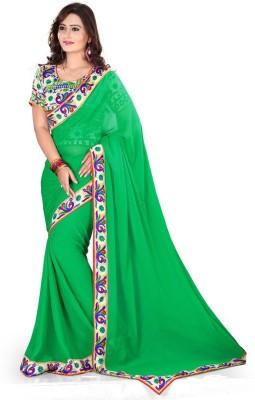 Nena Fashion Printed Fashion Georgette Sari