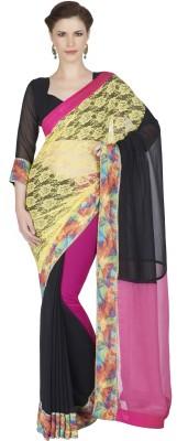 Designersareez Embriodered Fashion Net Sari