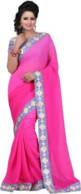 Majestic Silk Embellished Fashion Georgette Sari